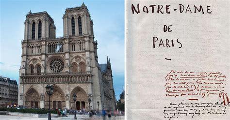libro notre drame de paris notre dame de paris il libro di victor hugo salv 242 dalla rovina la cattedrale di parigi