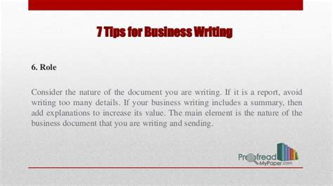 The Best Advice About Businesses Ive Written important tips for better business writing