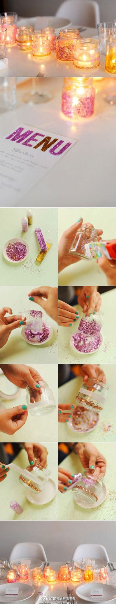 diy your makeup vanity in 16 affordable ways ritely diy jars inexpensive way to dress up your table useful