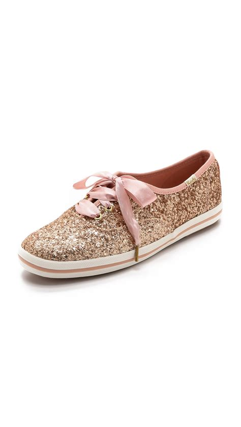 kate spade shoes lyst kate spade new york keds for kate spade giltter