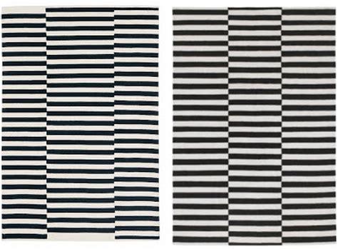 black and white striped rug ikea take pottery barn and ikea rugs