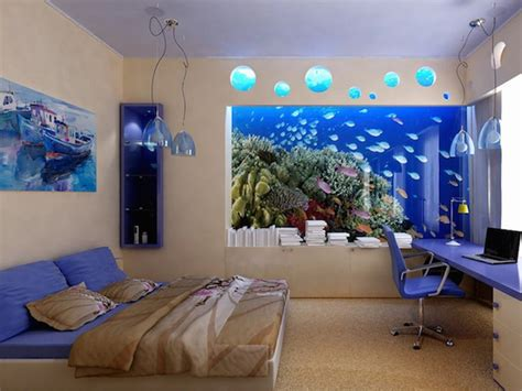 aquarium aqts design relaxing bedroom ideas with teal pendant ls and stylish