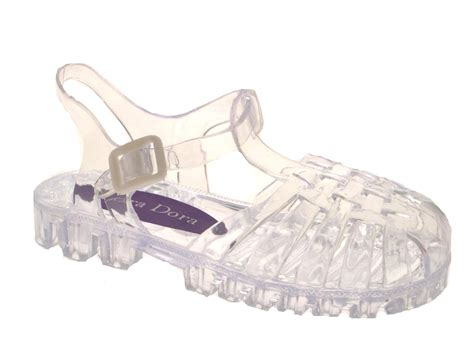 childrens jelly sandals jelly shoes summer cut out sandals jellies
