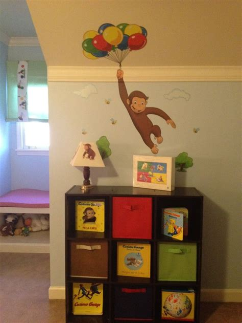 curious george bedroom ideas rhett s curious george room children s clothing pinterest