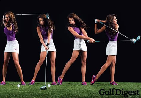 holly sonders swing golf channel s holly sonders will dominate cover of golf