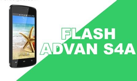 tutorial flash advan s4a cara flash hp advan