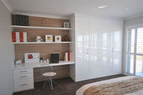 Wardrobe With Built In Desk by Best 25 Built In Wardrobe Ideas On Bedroom