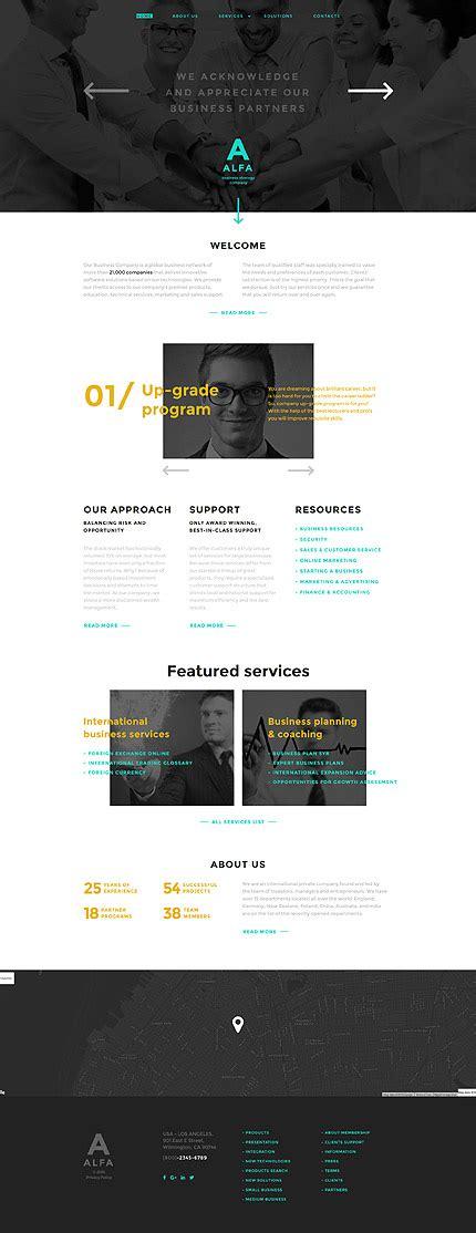 javascript desktop layout business type website templates template 58275