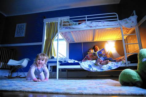 mom son bedroom why parents are choosing to have kids share rooms even