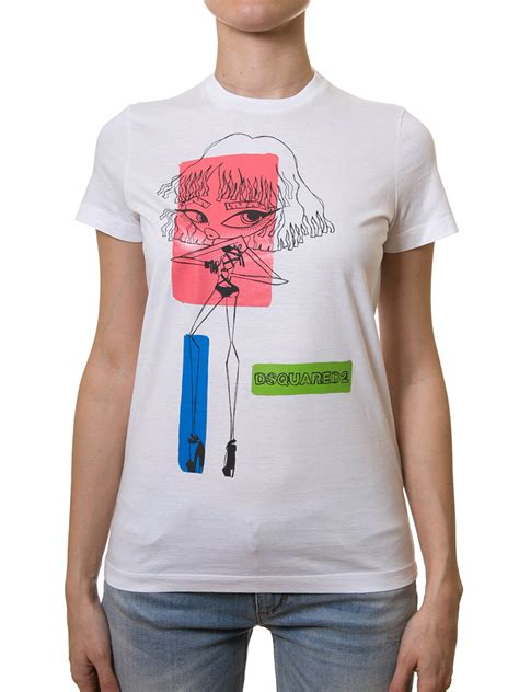 Color Block Shirt colour block print t shirt by dsquared2 t shirts ikrix