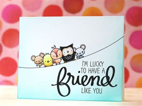 how to make a friendship card 40 friendship card designs diy ideas