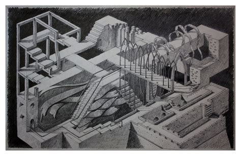 architecture chaos by stefyarh on deviantart