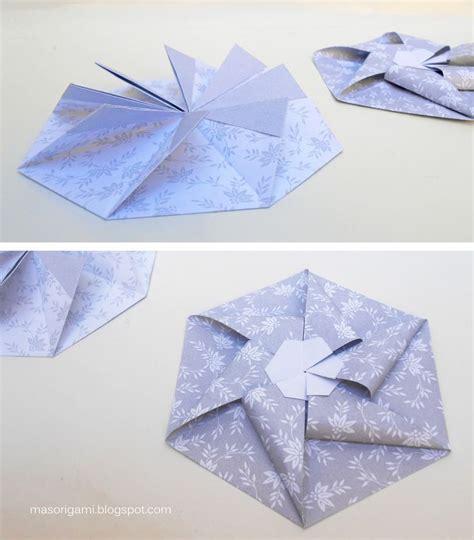 Origami Envelope Flower - 97 best origami box images on