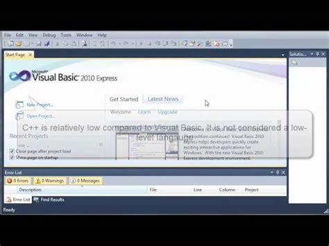 tutorial visual basic 2017 visual basic tutorial 1 what is visual basic skill24x7