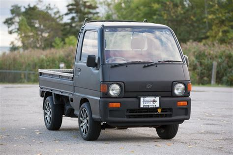 1992 Subaru Sambar 4wd Right Drive