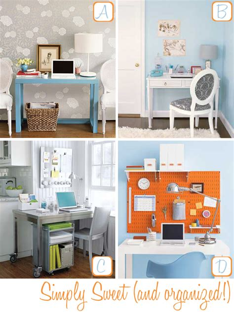 organize home office desk home office organizing tips decor8