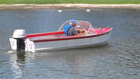 king boat 1961 sea king sea venture iii youtube