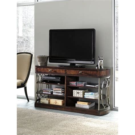 stanley furniture media cabinet stanley furniture avalon heights empire media console in