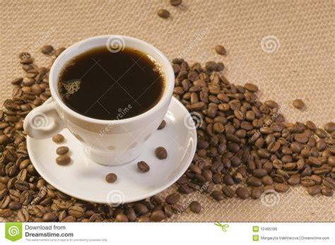 Coffee Bean Gift Card Free Drink - black coffee drink royalty free stock photo image 12485185