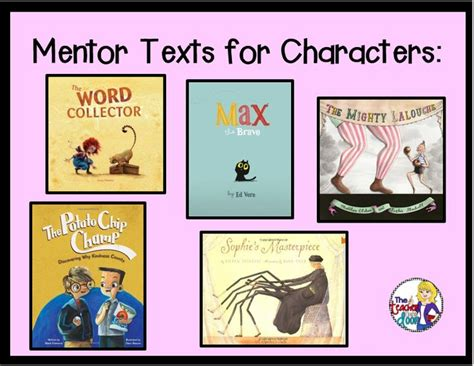 teaching character traits with picture books wonderful mentor texts to teach character traits mentor