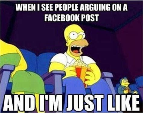 How To Post Memes On Facebook - when i see people arguing on a facebook post meme