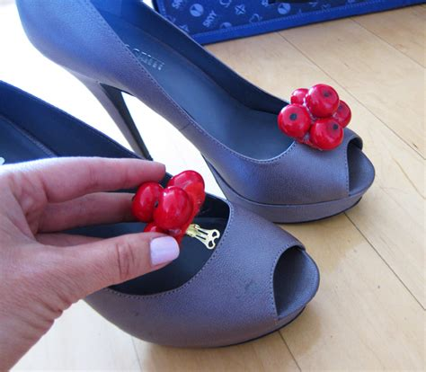 diy shoe clip sydne summer s diy cherry shoe
