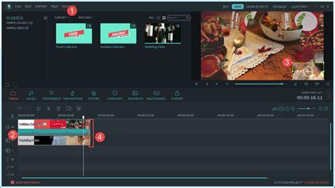 tutorial edit video dengan wondershare filmora editing video wondershare filmora guide
