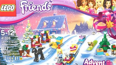 Friends Advent Calendar 2017 lego friends advent calendar from lego