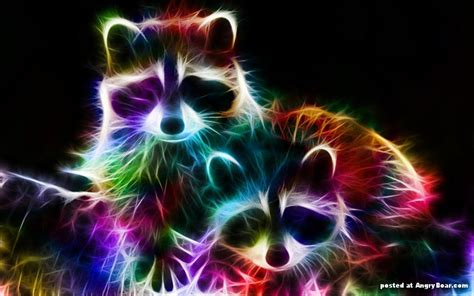 wallpapers of colorful animals electric animals by canadian artist minimoo64 angryboar