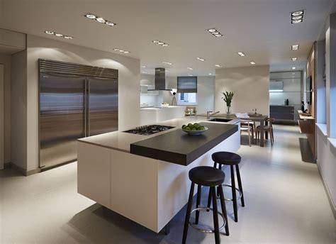 kitchen and bath showroom island a bulthaup b3 kitchen island with sub zero door