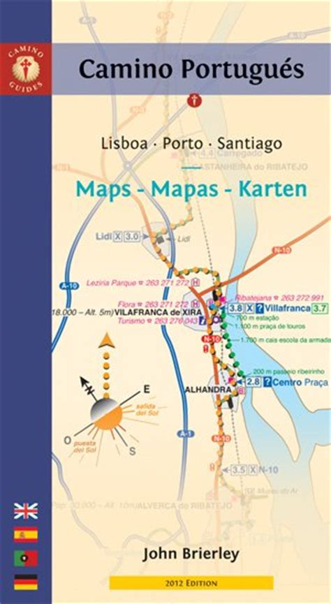 pilgrim s guide to the camino portugues brierley camino de santiago maps only guide to the camino portugues
