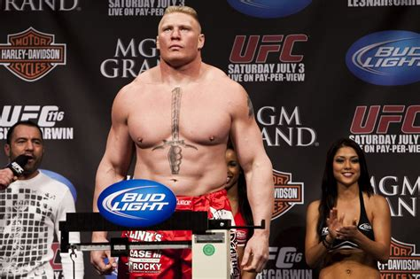 mark jackson ufc video and photos brock lesnar s physique from ufc 200 vs