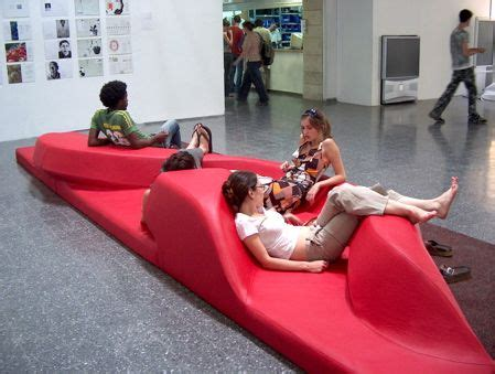 public couch 17 best images about sculptural public seating on