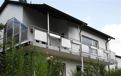 balkon edelstahlgeländer balkongel 228 nder balkon edelstahl altenglan kusel