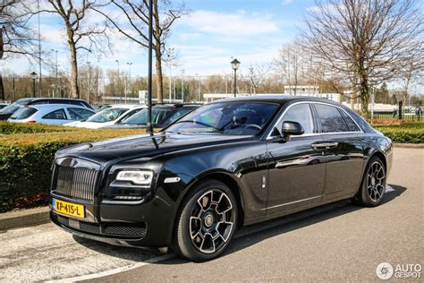 rolls royce ghost 2017 rolls royce ghost series ii black badge 25 march 2017