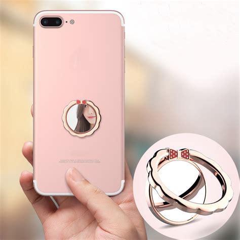 socket holder iphone korean style pop phone holder socket aluminum metal phone ring holder stand for iphone xiaomi