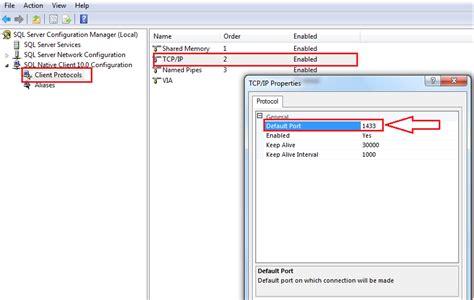 sql server port could not open a connection to sql server asp net c