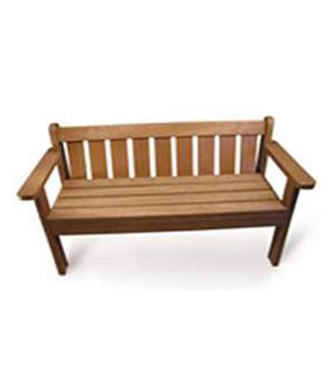 king s bench 1 6m king bench 3 seater mctimber structres