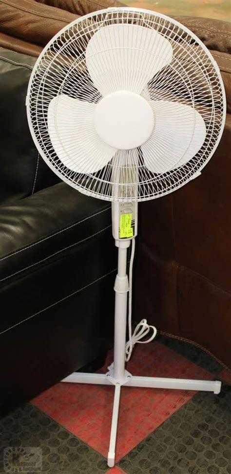 mainstays 16 inch pedestal fan new mainstays oscillating stand fan 3 speeds