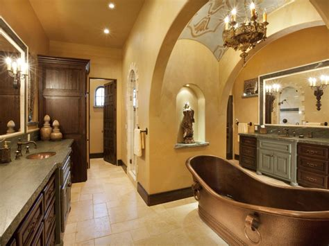 spanish style bathrooms pictures ideas tips from hgtv tuscan bathroom design ideas hgtv pictures tips hgtv