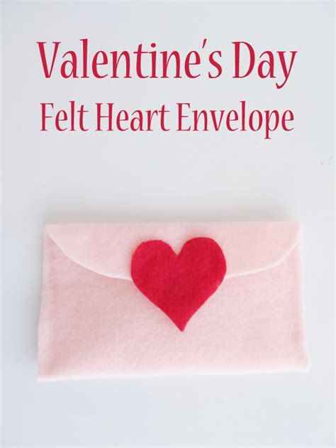 which side of the envelope does the st go on valentine s day felt heart envelope woo jr kids activities