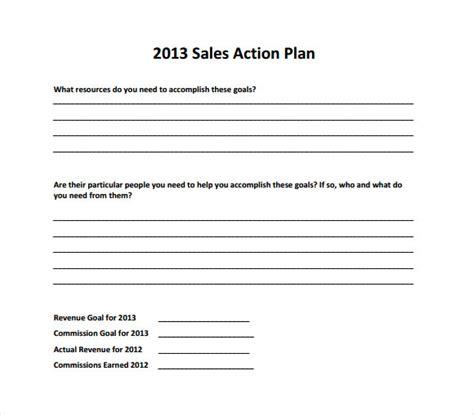 sle sales plan 9 exle format