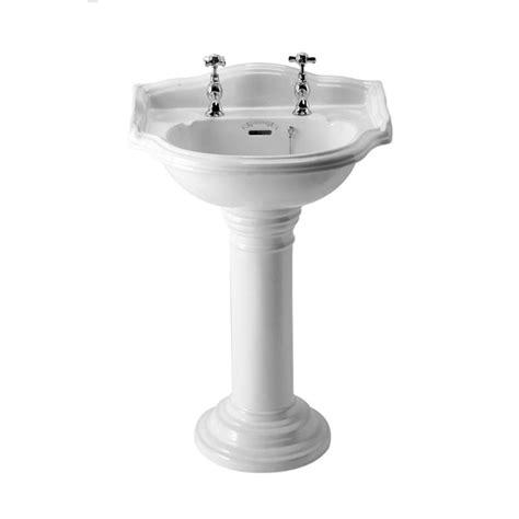 Phoenix Balmoral Bathroom Basin Full Pedestal Uk Bathrooms