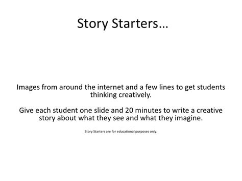 creative writing topics and short story ideas html autos story starters