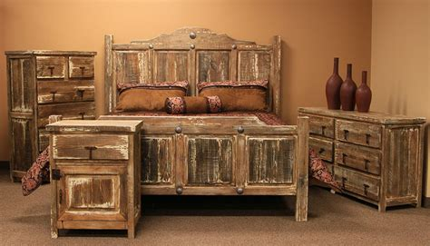 furniture minimized white wash rustic bedroom set