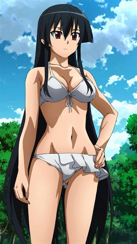 wallpaper android anime akame ga kill akame mobile wallpaper swimsuit