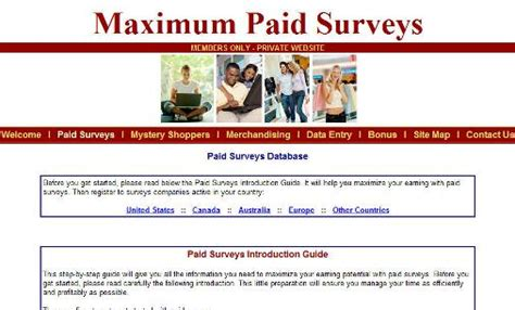 Reliable Surveys For Money - surveys for cash
