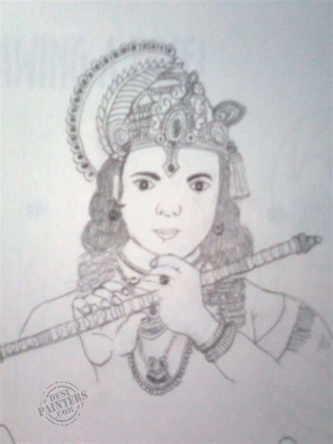 krishna house pin krishna pencil sketch by manikandan m kozhikothodiyil