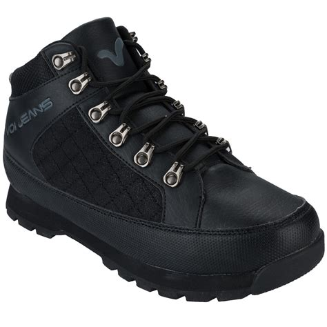 mens voi mens hummer boots in black uk 7 from get the label ebay