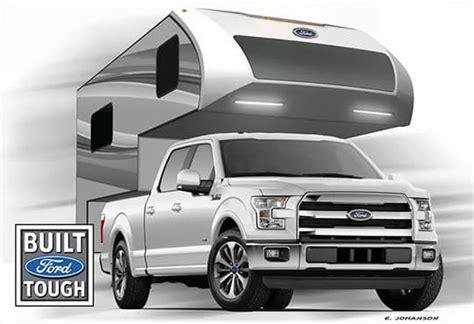2016 Ford 8.6 and 6.8 Truck Campers F 150 2015
